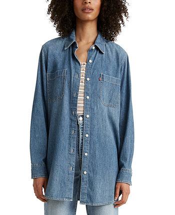 Модная хлопковая рубашка больших размеров Jicama Levi's®
