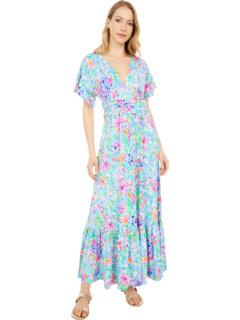 Джесси Миди платье Lilly Pulitzer