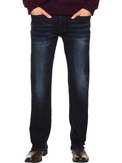 Шесть прямых джинсов цвета Authentic и Deep Indigo Buffalo David Bitton