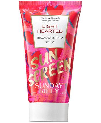Легкое сердце широкого спектра действия SPF 30, 1,5 унции. Sunday Riley