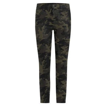 Джинсы-скинни до щиколотки с камуфляжным покрытием Charlie с высокой посадкой и покрытием Joe's Jeans