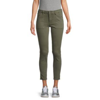 Укороченные джинсы скинни Marley Vigoss