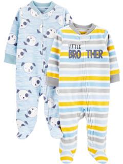 2 комплекта флисовых ножек Sleep and Play (для младенцев) Simple Joys by Carter's