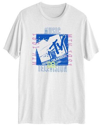 Мужская футболка MTV Grunge с коротким рукавом Hybrid