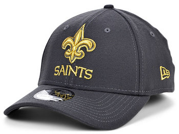New Orleans Saints Graph Team Classic 39THIRTY Cap New Era