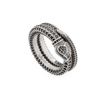 Кольцо из стерлингового серебра Gucci Garden GUCCI