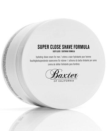 Формула для бритья Super Close Shave, 8 унций. BAXTER OF CALIFORNIA