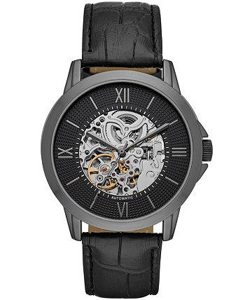 Мужские черные часы с автоматическим ремешком 44мм Folio