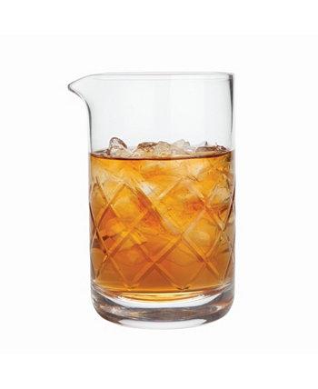 Профессиональный бессвинцовый хрустальный стакан для смешивания Viski