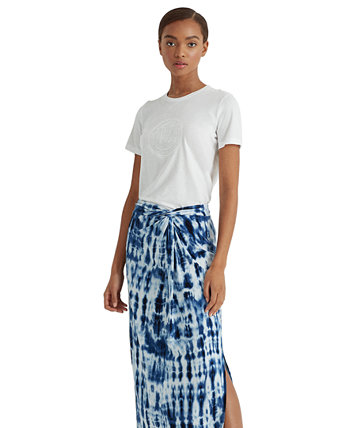 Tie-Dye Midi Skirt Ralph Lauren