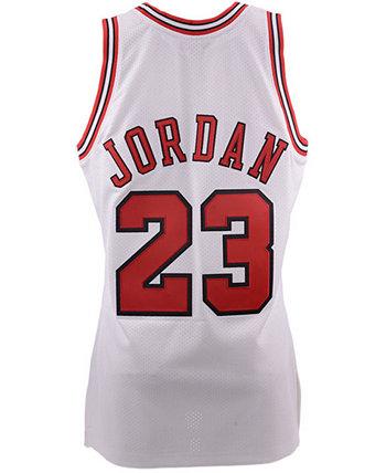 Мужское аутентичное джерси Chicago Bulls Michael Jordan Mitchell & Ness