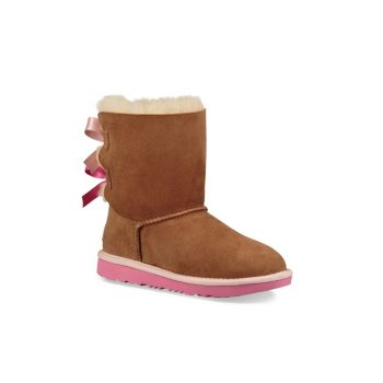 Ботинки UGGpure Bailey Bow II для маленьких девочек и девочек UGG