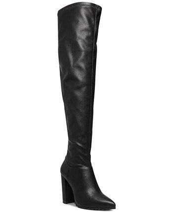 Signaal Классические ботинки выше колена с выступом на подошве Madden Girl