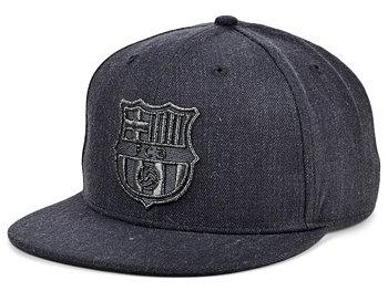 Платиновая кепка FC Barcelona Snapback Fan Ink