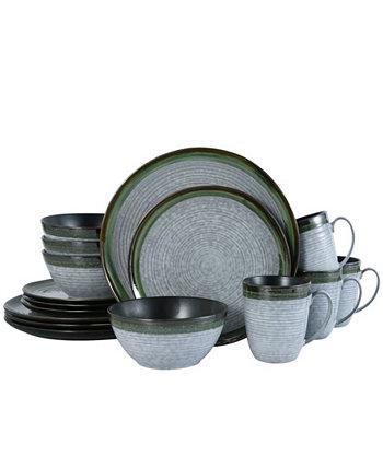 Набор столовой посуды Willa из 16 предметов, сервиз для 4 человек MIKASA