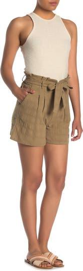 Текстурированные шорты с высокой талией и высокой талией GOOD LUCK GEM