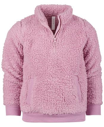 Куртка Little Girls Sherpa с застежкой-молнией, созданная для Macy's Ideology