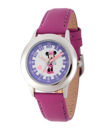 Часы для учителей времени из нержавеющей стали для девочек с Минни Маус Disney Ewatchfactory
