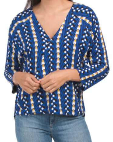 Faux Wrap Slouch Top The Odells