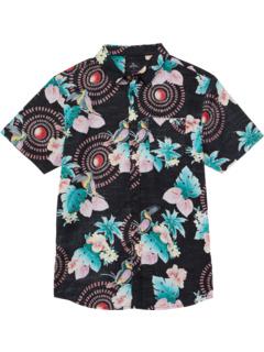 Рубашки с короткими рукавами для пляжной вечеринки (для больших детей) Rip Curl Kids