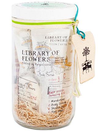 5-шт. Набор товаров для ванны ивы и воды Library of Flowers