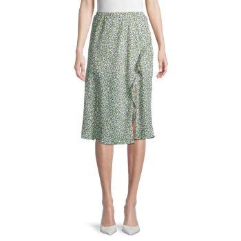 Юбка-миди с цветочным принтом Dress Forum