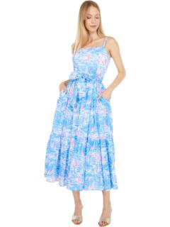 Analeese Midi Dress Lilly Pulitzer