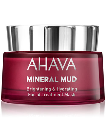 Mineral Mud Осветляющая и увлажняющая маска для лица, 1,7 унции. AHAVA