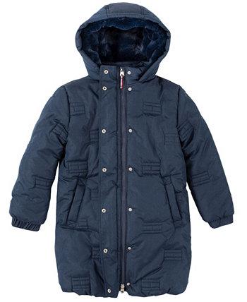 Уютная пуховая куртка для больших девочек Tommy Hilfiger