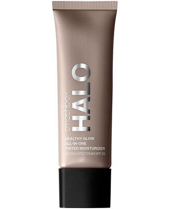 Halo Healthy Glow Тонированный увлажняющий крем Broad Spectrum SPF 25, 1,4 унции. Smashbox