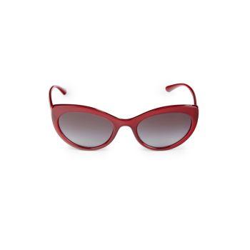53MM Cat Eye Sunglasses Dolce & Gabbana