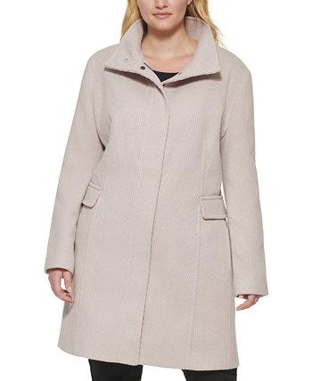 Куртка большого размера с воротником-стойкой Calvin Klein