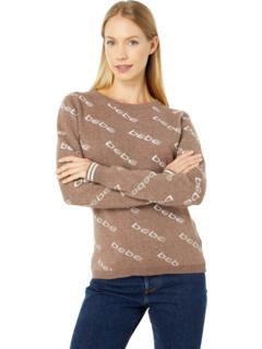 All Over Logo Sweater Bebe