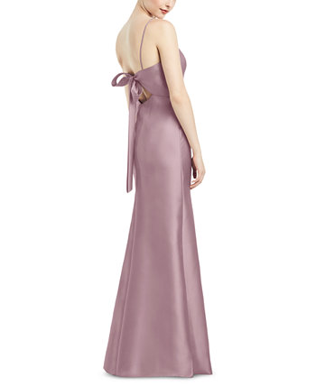 Платье с бантом Alfred Sung