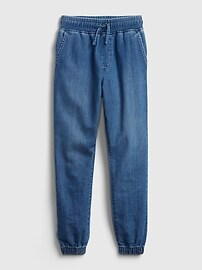 Kids Denim Pull-On Joggers with Washwell Gap