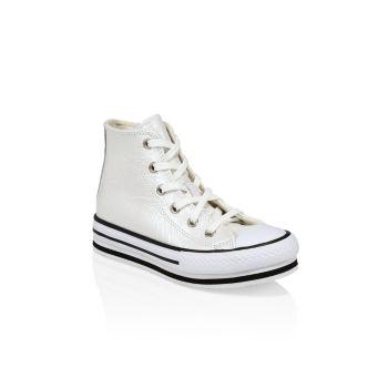 Кроссовки для девочек с высоким берцем Converse