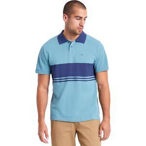 Вязаная рубашка-поло в полоску Brixton Shield X Brixton