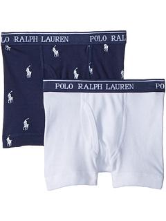 2 пары трусов-боксеров (для маленьких детей / детей старшего возраста) Ralph Lauren