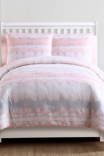 Комплект одеяла Bed-in-a-Bag Blush Crush Tie-Dye - Полный VCNY HOME