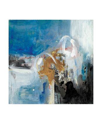 """Холст Joyce Combs Interplay Abstract II - 15,5 """"x 21"""" Trademark Global"""