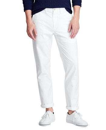 Мужские прямые стрейчевые брюки-бикини Bedford Ralph Lauren