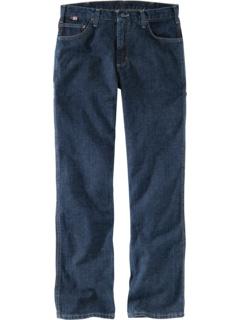 Большие и высокие огнестойкие прочные облегающие джинсы с открытой посадкой Carhartt