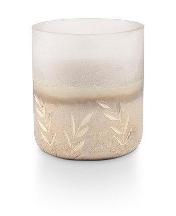 Маленькая матовая свеча с бальзамом и кедром Illume