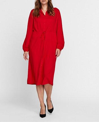 Платье-рубашка большого размера Rina Midi VERO MODA