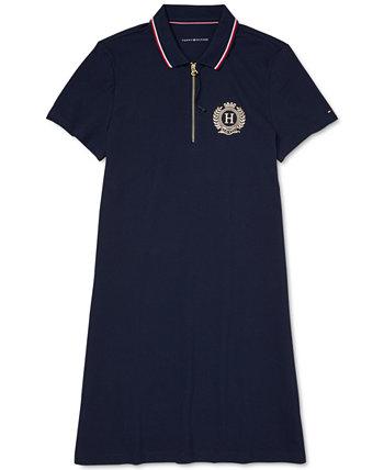 Женское платье-поло с удлиненной молнией Tommy Hilfiger