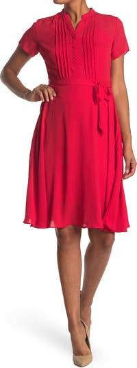 Платье-рубашка со складками и защипами Nanette nanette lepore