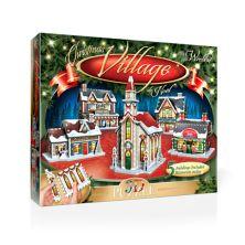 Wrebbit The Christmas Village 3D панельная головоломка Wrebbit