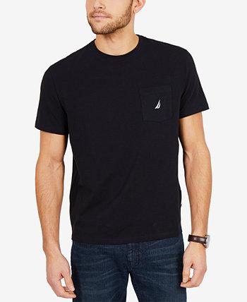 Мужская большая и высокая якорная футболка Nautica