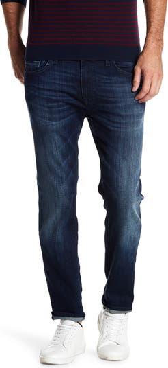 Джинсы Jake Dark Tonal Slim Fit с внутренним швом 30–34 дюйма Mavi