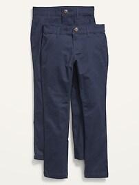 Uniform Skinny Chino Pants for Girls Old Navy
